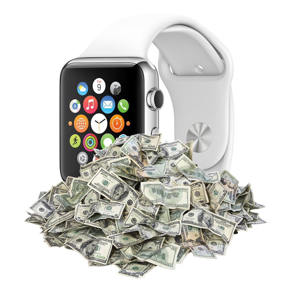 Apple Watch sales estimated at 2.79 million units so far