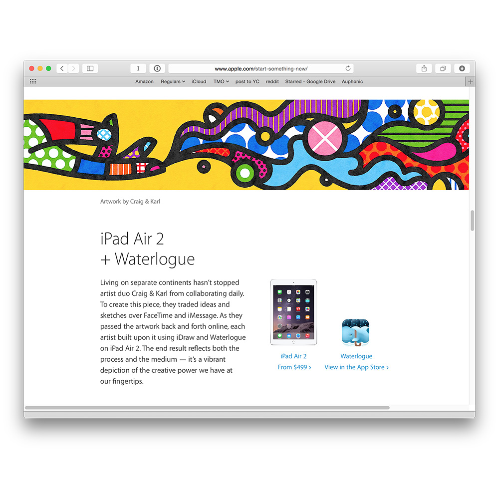 Romero Britto hits Apple, Craig & Karl for copycat art