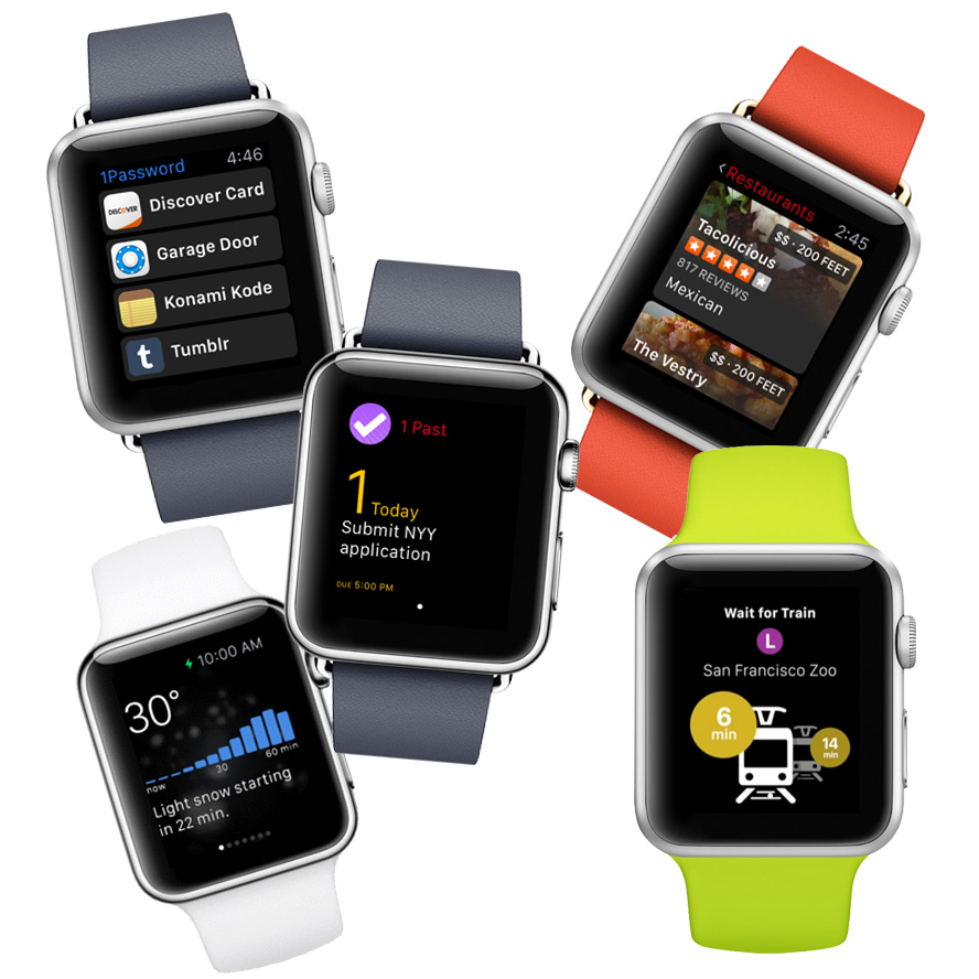 10 Must Have Apple Watch Apps for Launch Day