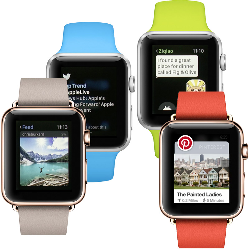 Getting social with Apple Watch apps