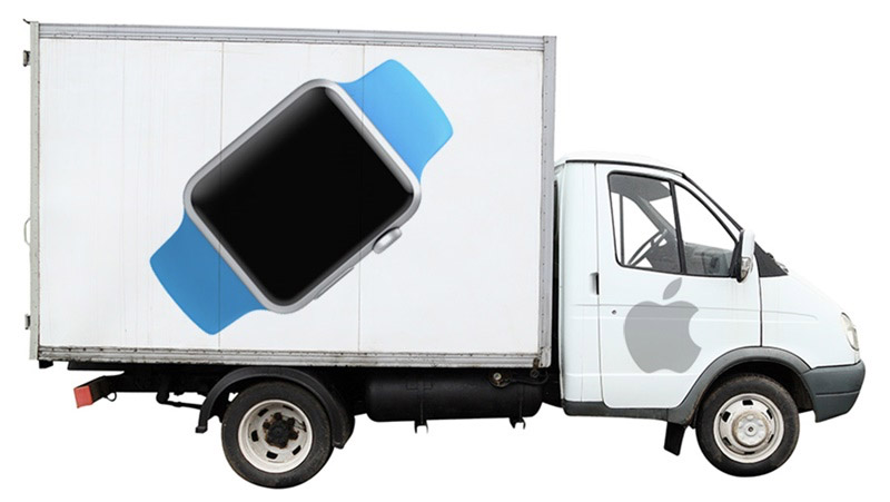 Apple Watch Deliveries