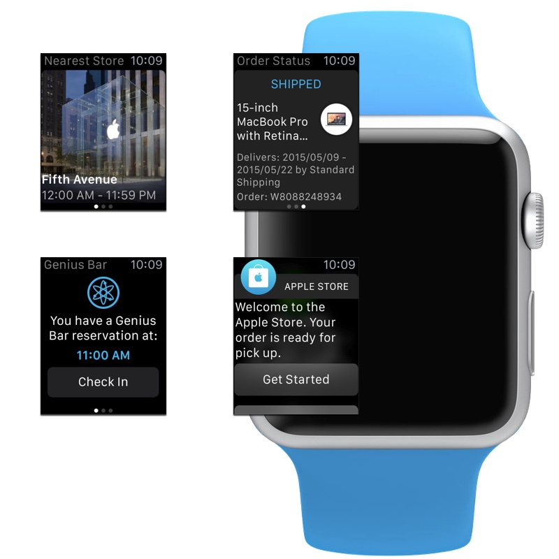 Apple Watch gets Apple Store app support