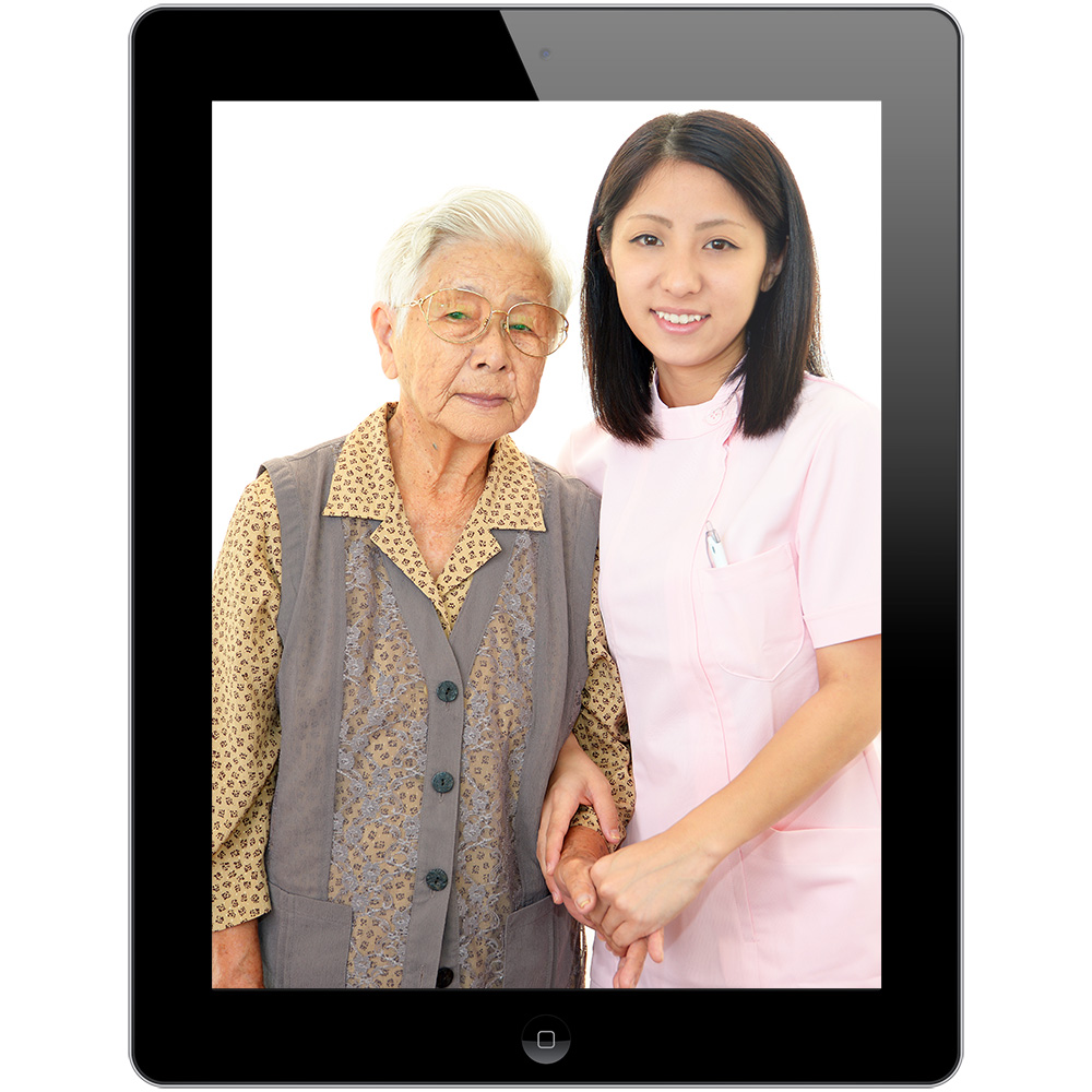iPads to help check up on senior citizens in Japan