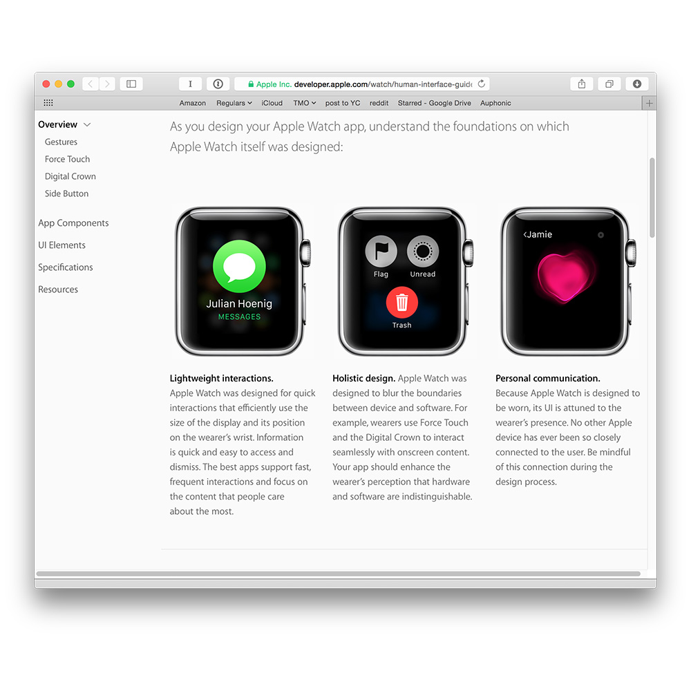 Apple updates its Apple Watch developer resources