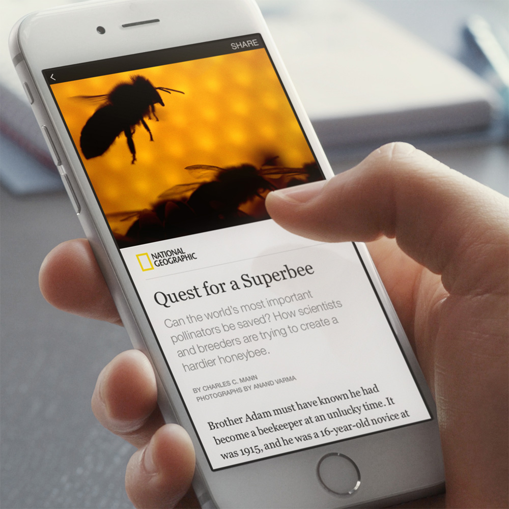 Facebook Instant Articles aims to be your primary news source