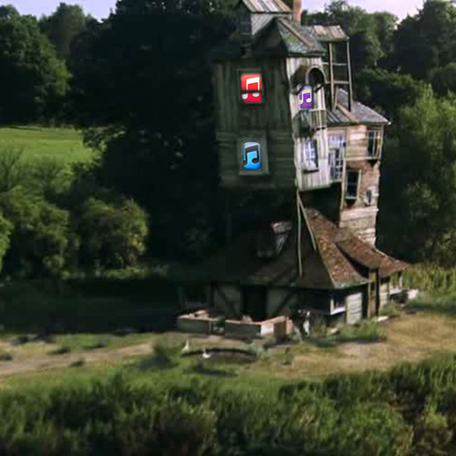 The Burrow, or the Weasley�s house of Apple software.
