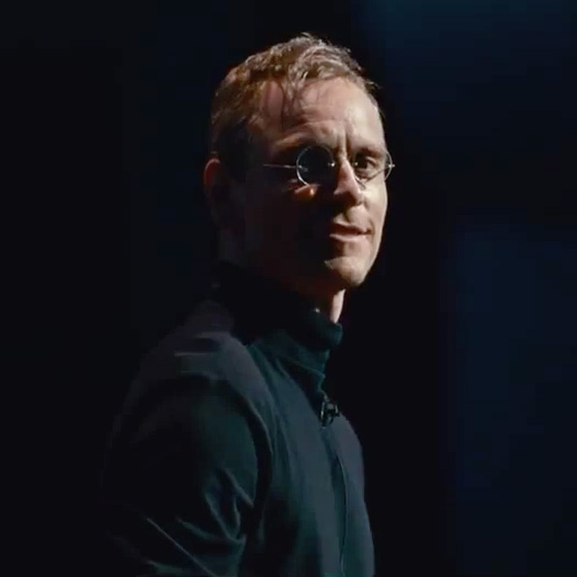 Michael Fassbender as Apple�s Steve Jobs