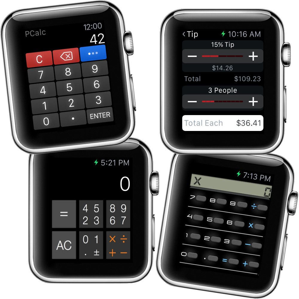 Tmo Rounds Up Some Le Watch Calculator S