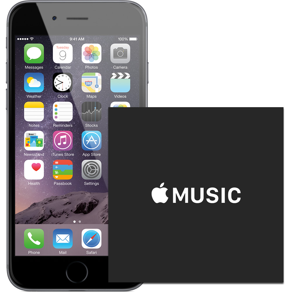 Apple adds Apple Music support to iPhone, iPad, iPod touch
