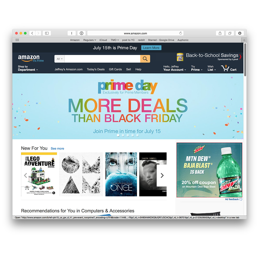 Amazon invents its own Black Friday with Prime Day