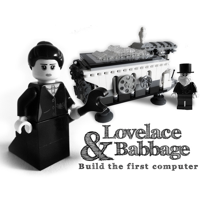 LEGO Ideas Brings Ada Lovelace, Analytic Engine to Life