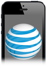 AT&T didn't break out iPhone sales this quarter. So that's new.