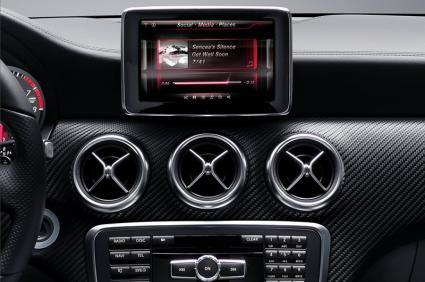 Mercedes Digital DriveStyle App in-dash