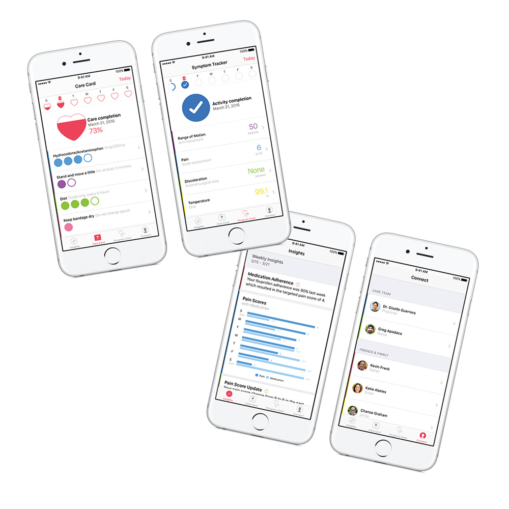 CareKit apps hit the App Store