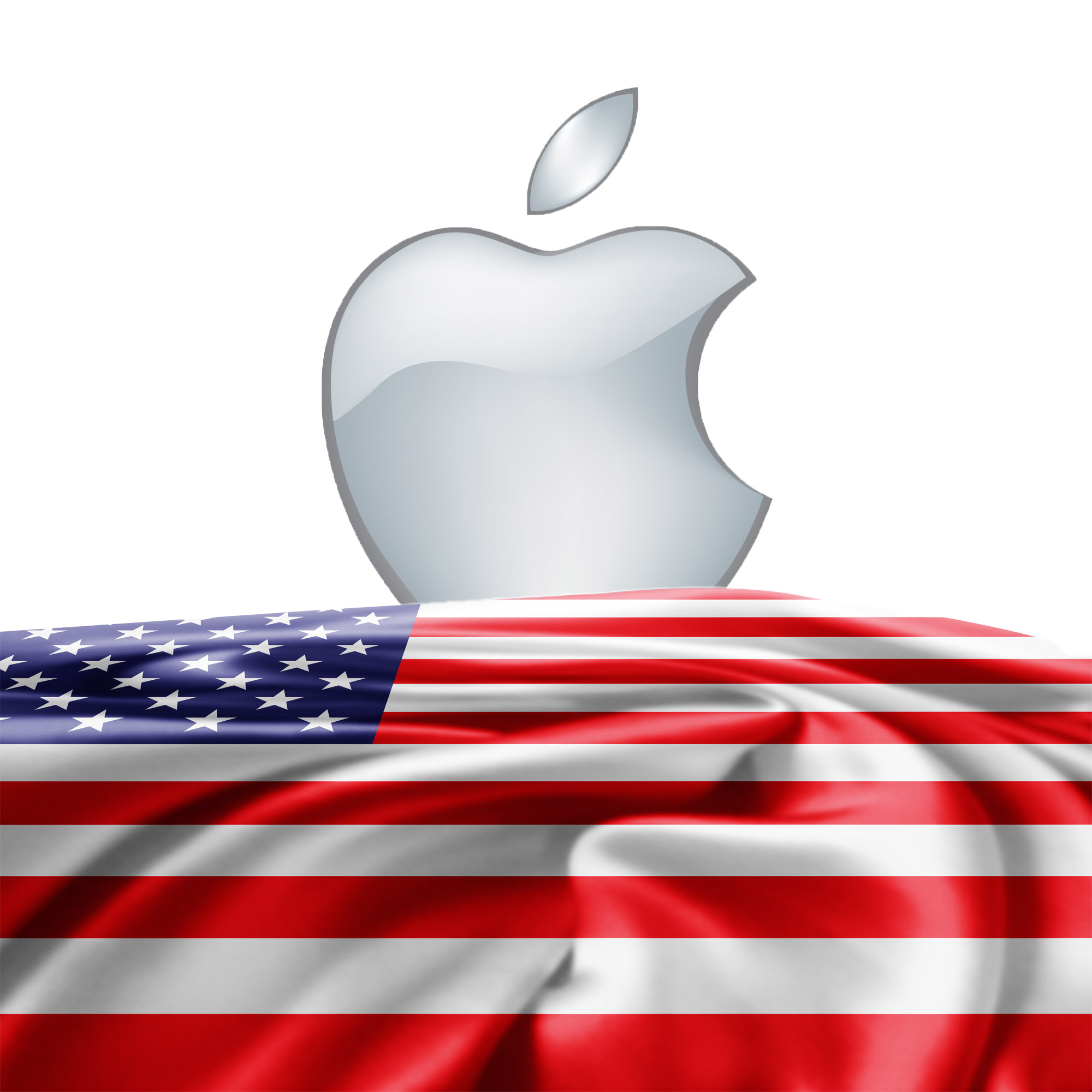 Apple and the American Flag