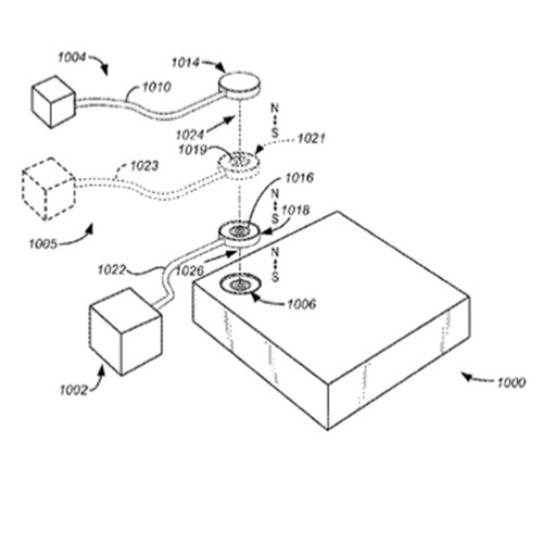 Apple's magnetic expansion port patent