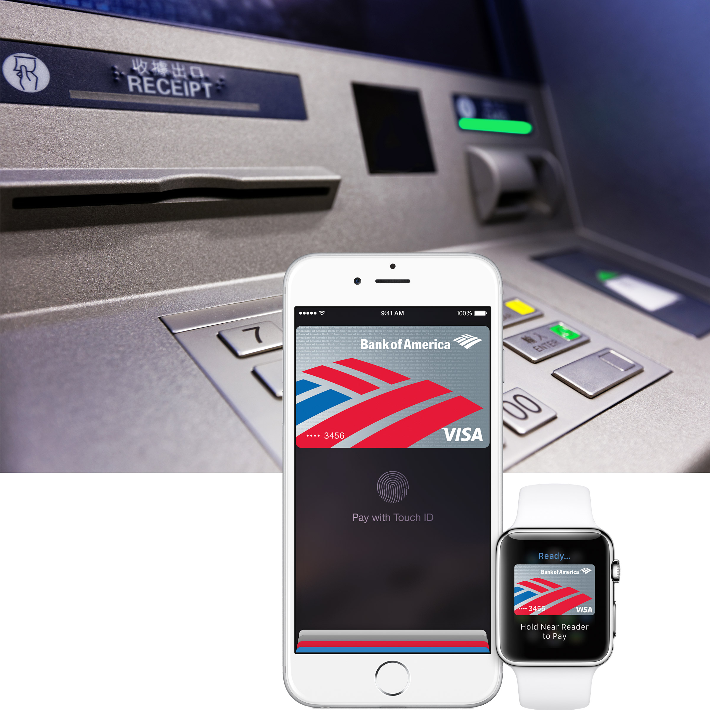 Apple Pay ATMs Reportedly Coming to Chase, Wells Fargo, Bank of America