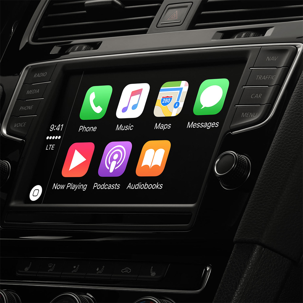 Apple webpage lists all CarPlay compatible car models