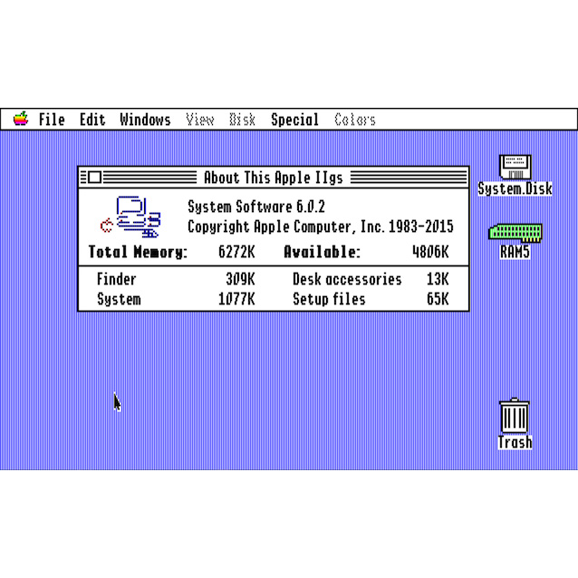 Apple IIgs System 6.0.2 Update Rolls Out After 22 Years - No Kidding