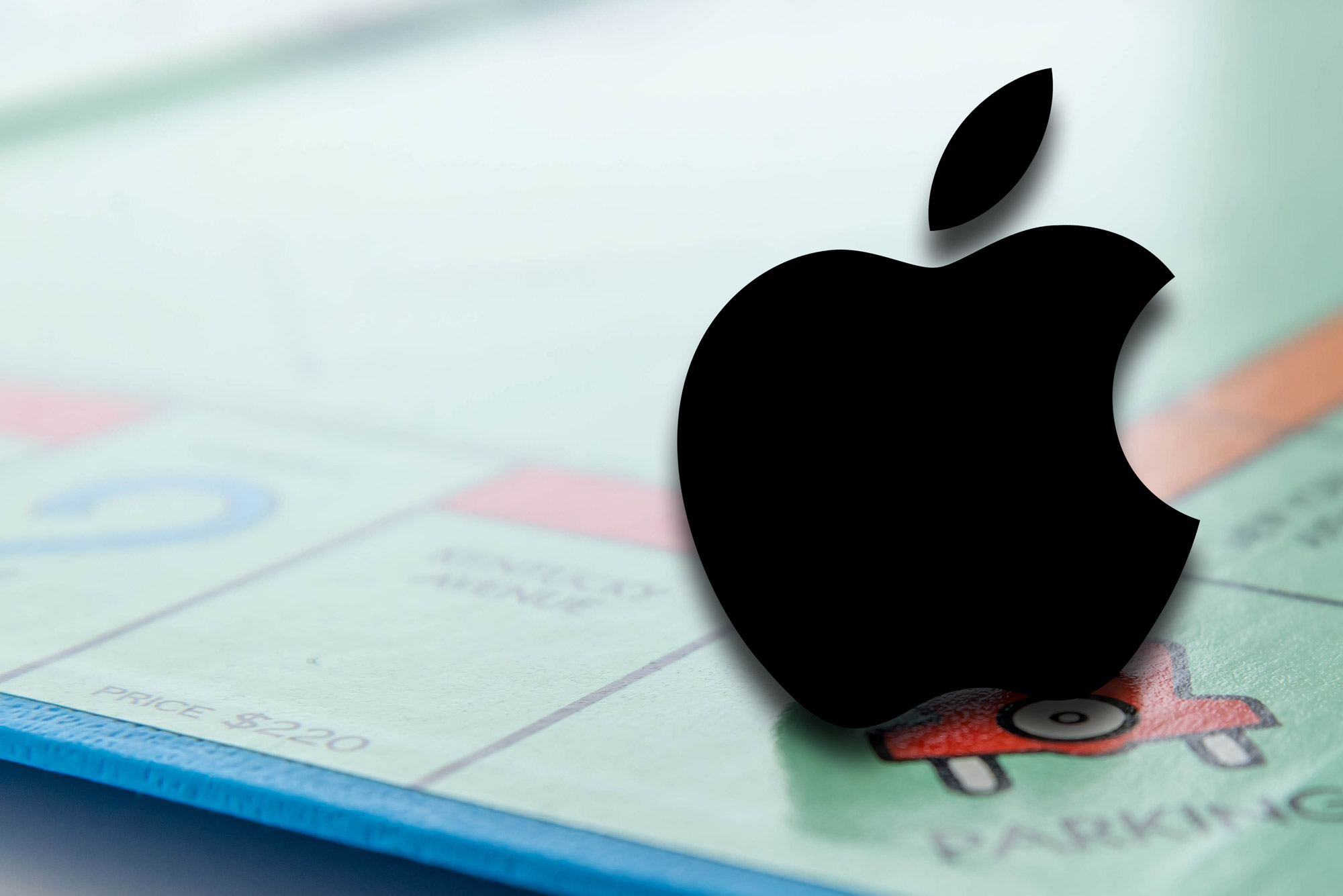Apple plays Monopoly