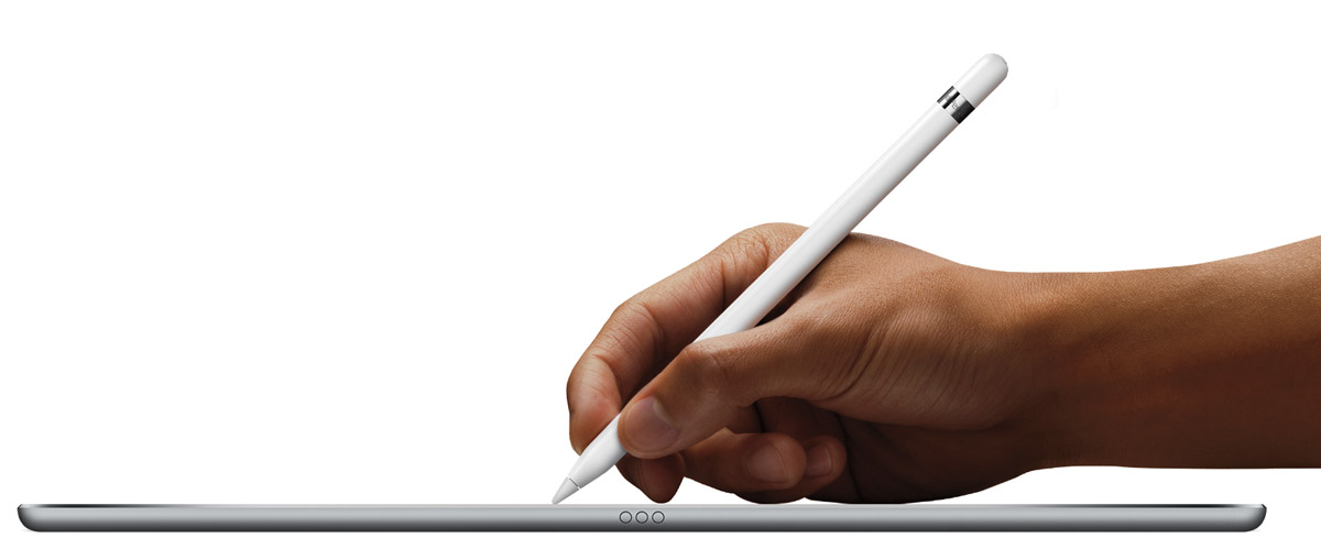 Apple Pencil and iPad Pro