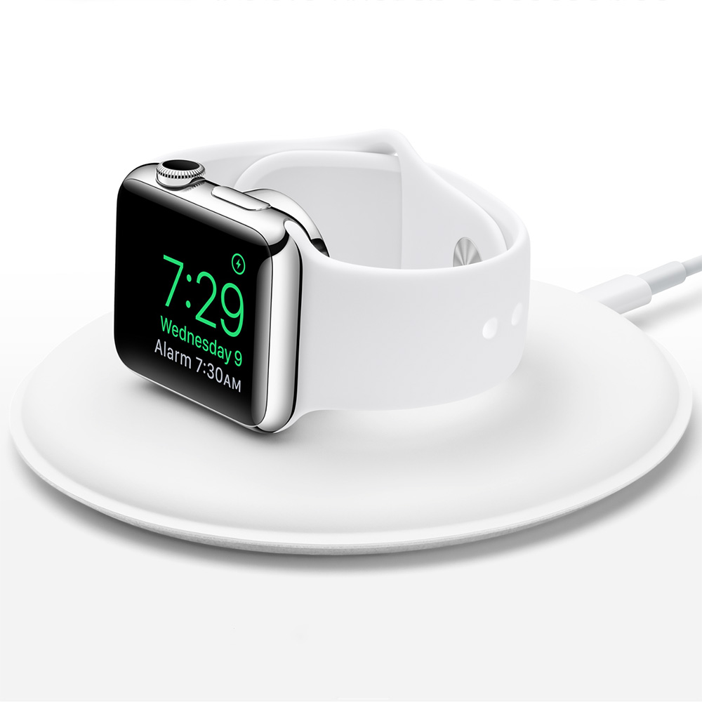 Apple unveils its own Apple Watch charging dock