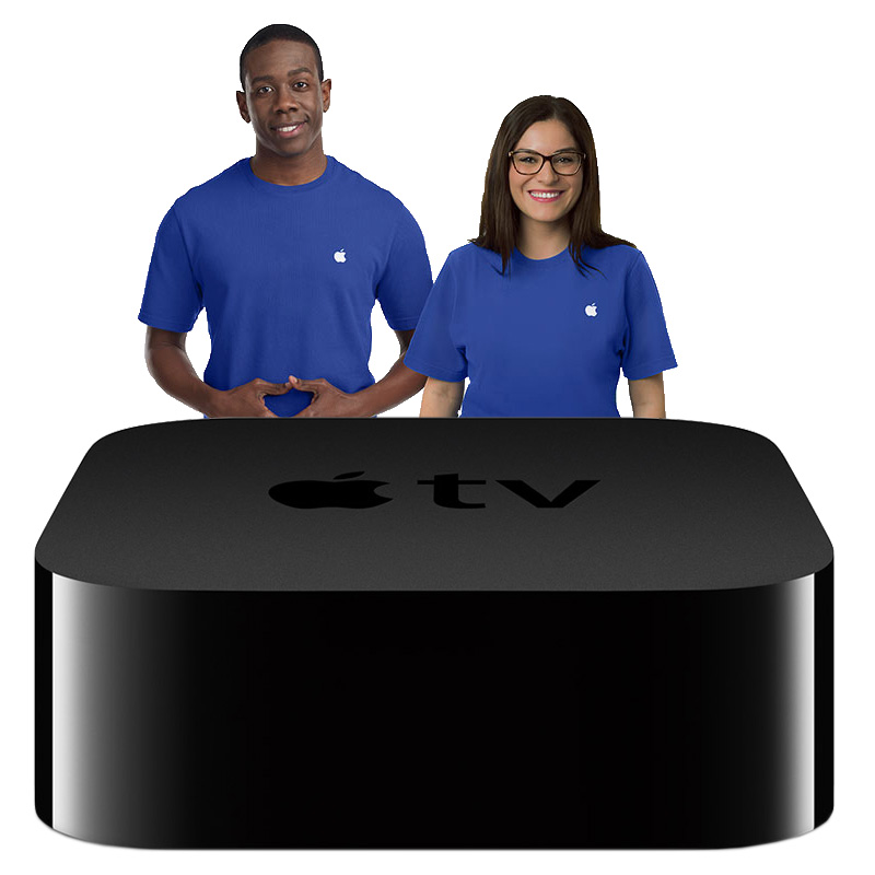 You can buy the new Apple TV in Apple Stores on Friday