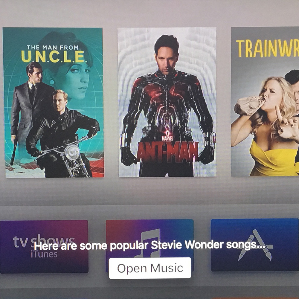 tvOS 9.1 lets you search Apple Music on your Apple TV
