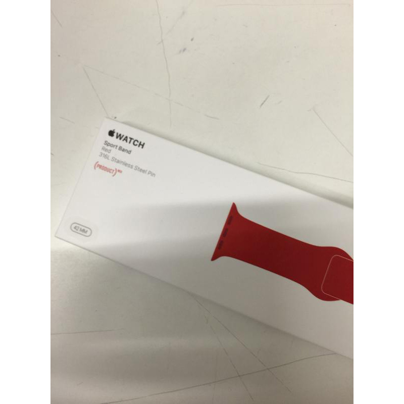 Larry Greenberg's Apple Watch Sport (PRODUCT)RED band photo