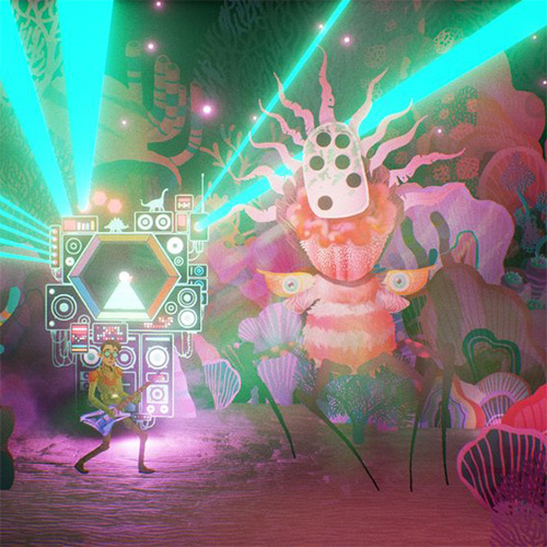 The Artful Escape: Art and Rock Team Up in a Beautiful New Game