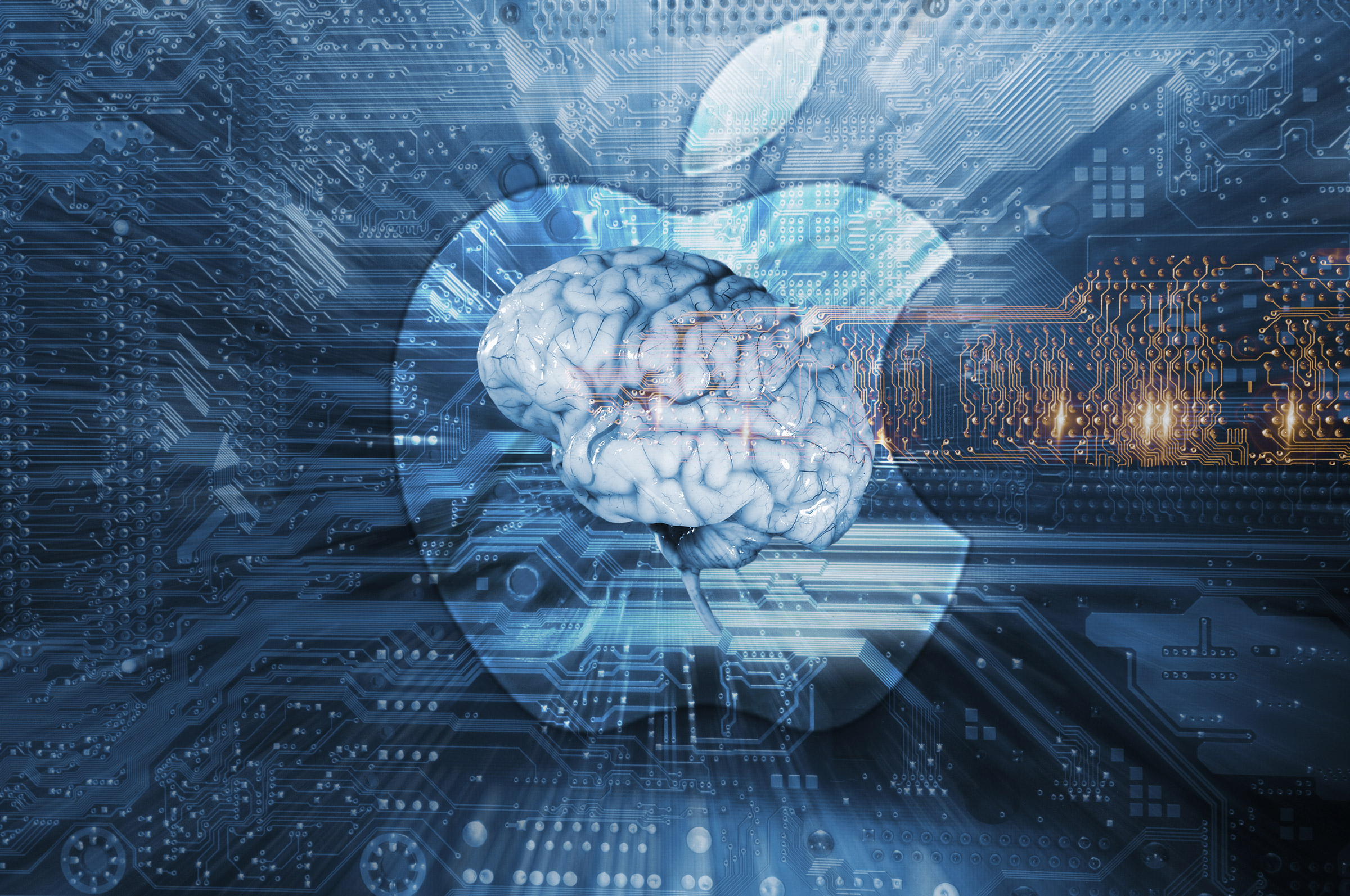 "Yes, there is an ""Apple brain"" — it's already inside your iPhone."
