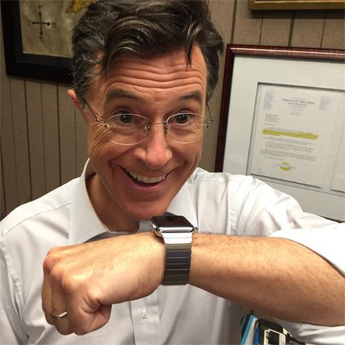 Tim Cook makes an Appearance on The Late Show with Stephen Colbert