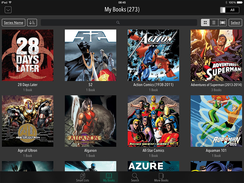 You can't buy in the comiXology app, but you sure can read a lot
