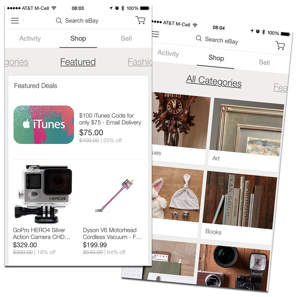 eBay Shows Sellers some Love in New iPad and iPhone App