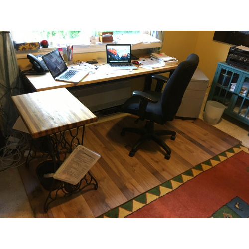 TMO Reader Builds Awesome DIY Office Chair Mat