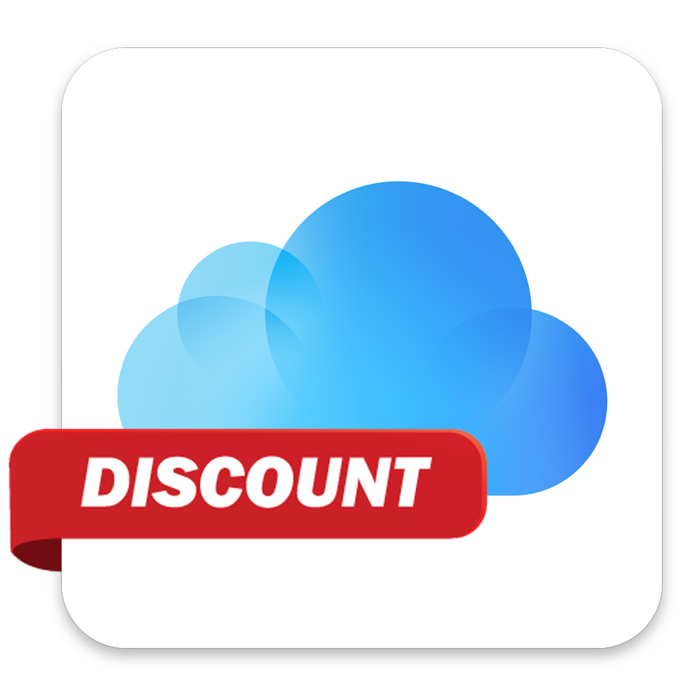 iCloud storage, now with a lower price tag