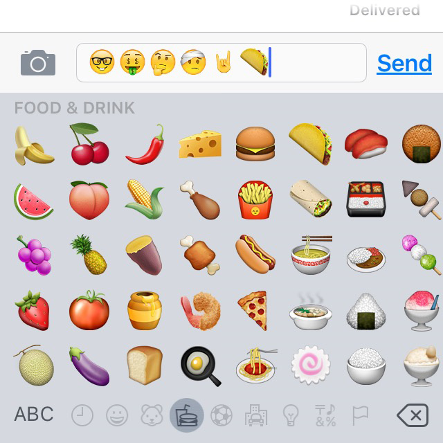 iOS 9.1 adds a taco emoji. All is well with the world.