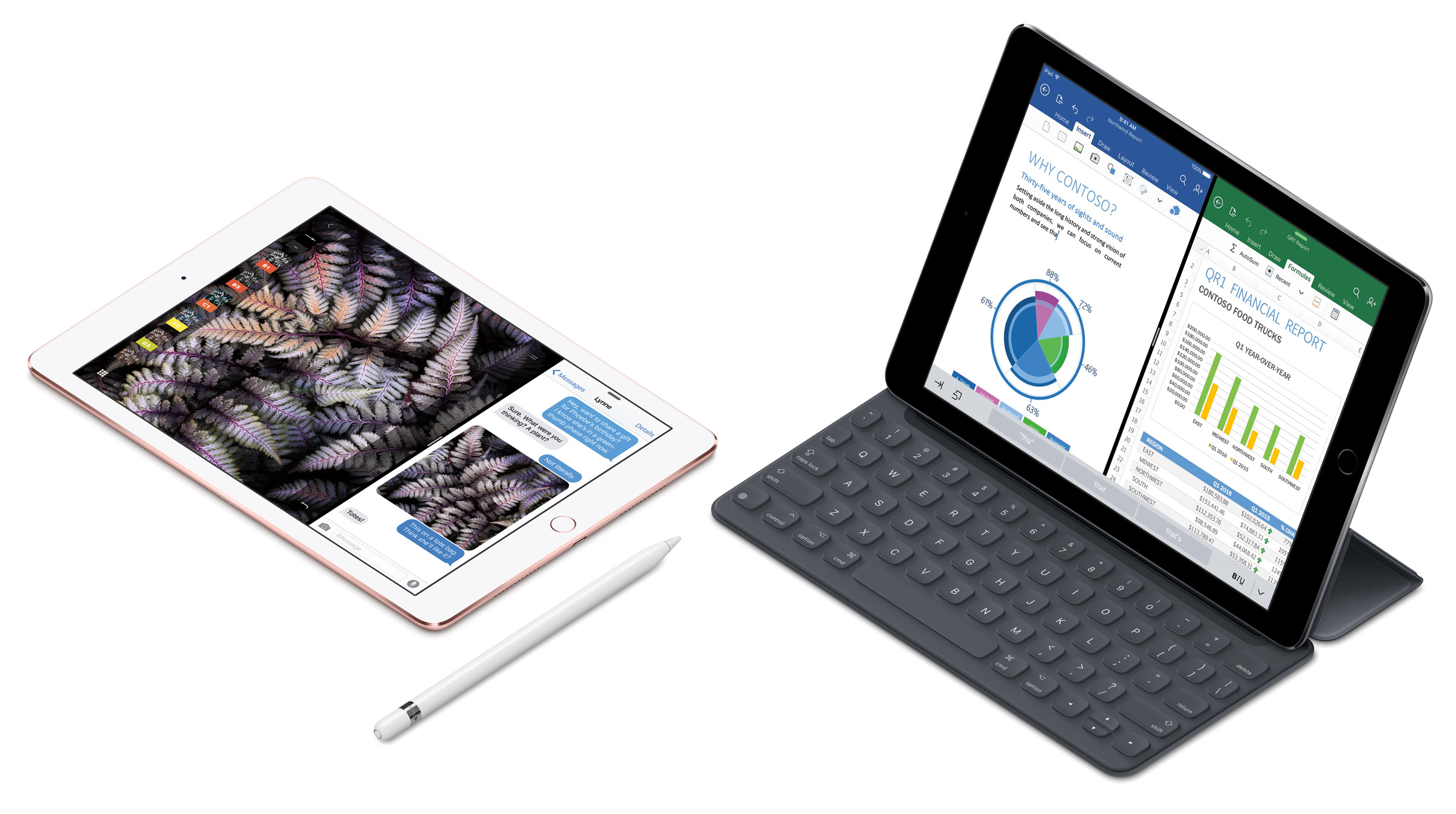 iPad Pro 9.7-inch, Smart Keyboard, Apple Pencil
