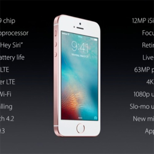 Apple's new 4-inch iPhone SE