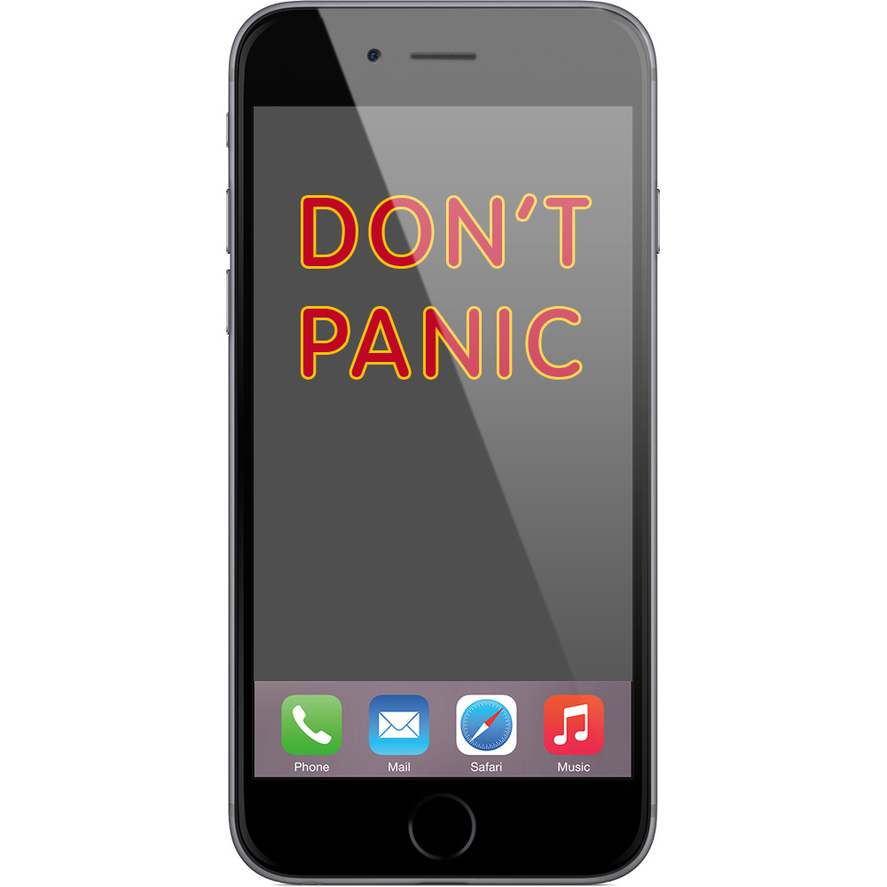Apple's message when the stock market went crazy: don't panic