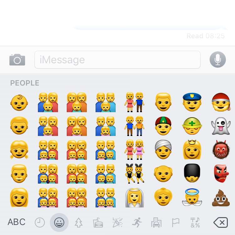 Apple's emoji collection caters to the openminded and tolerant crowd