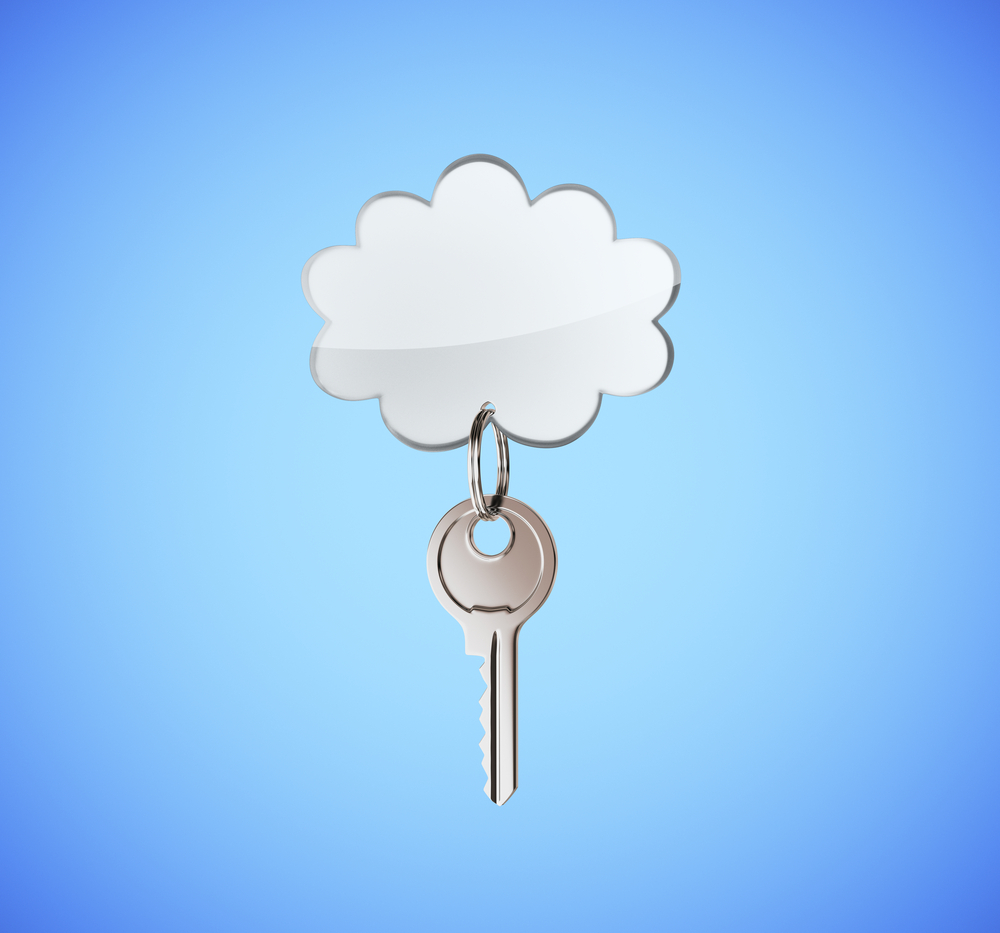 key and cloud
