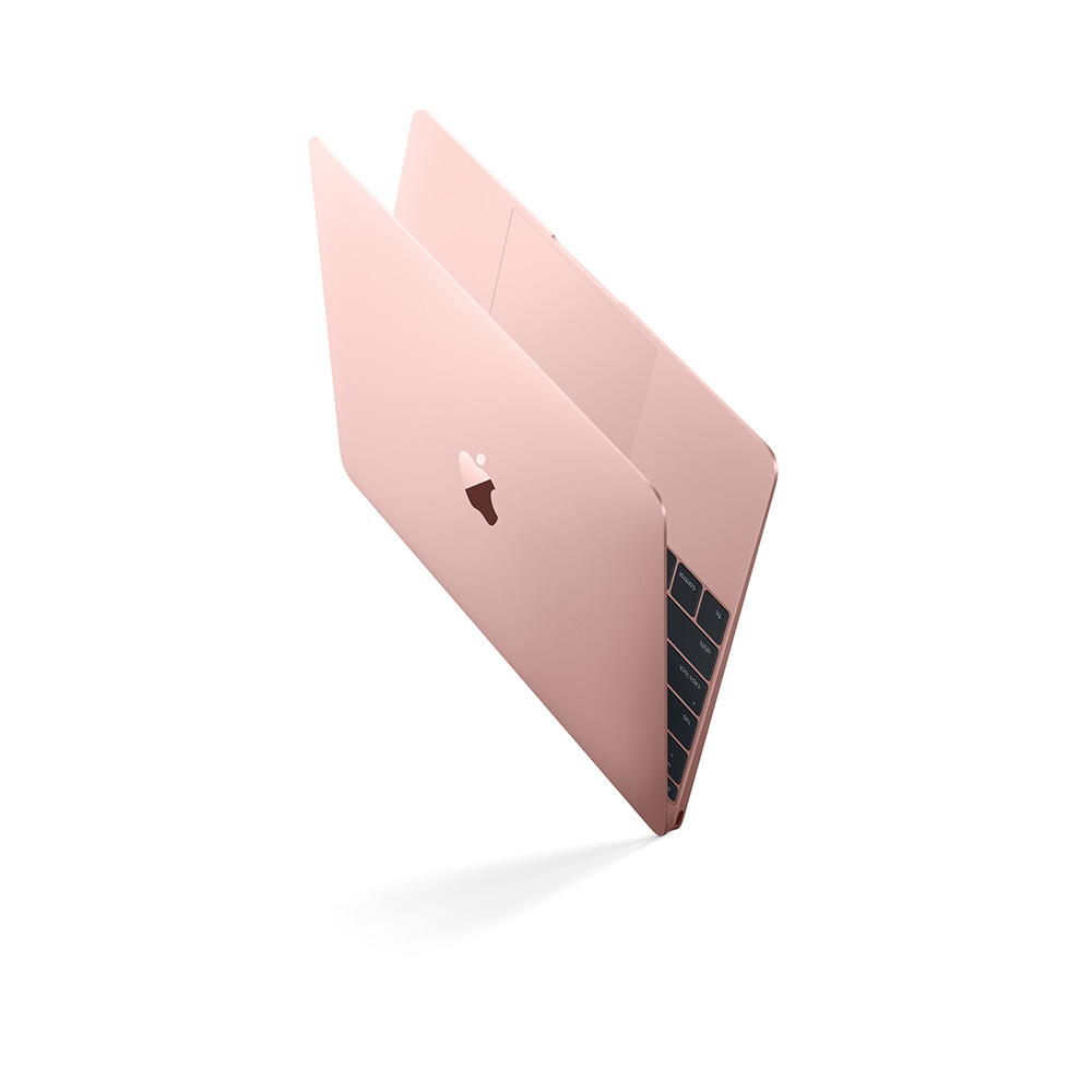Now you can get the MacBook in pink, er, Rose Gold