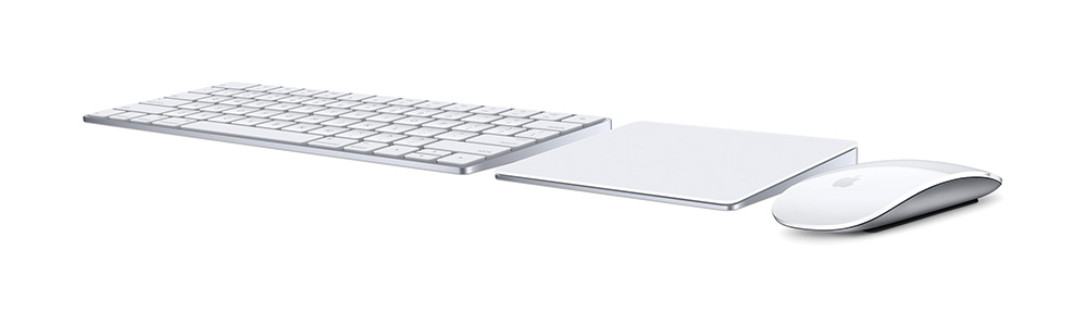 Apple's redesigned Magic Keyboard, Trackpad, and Mouse