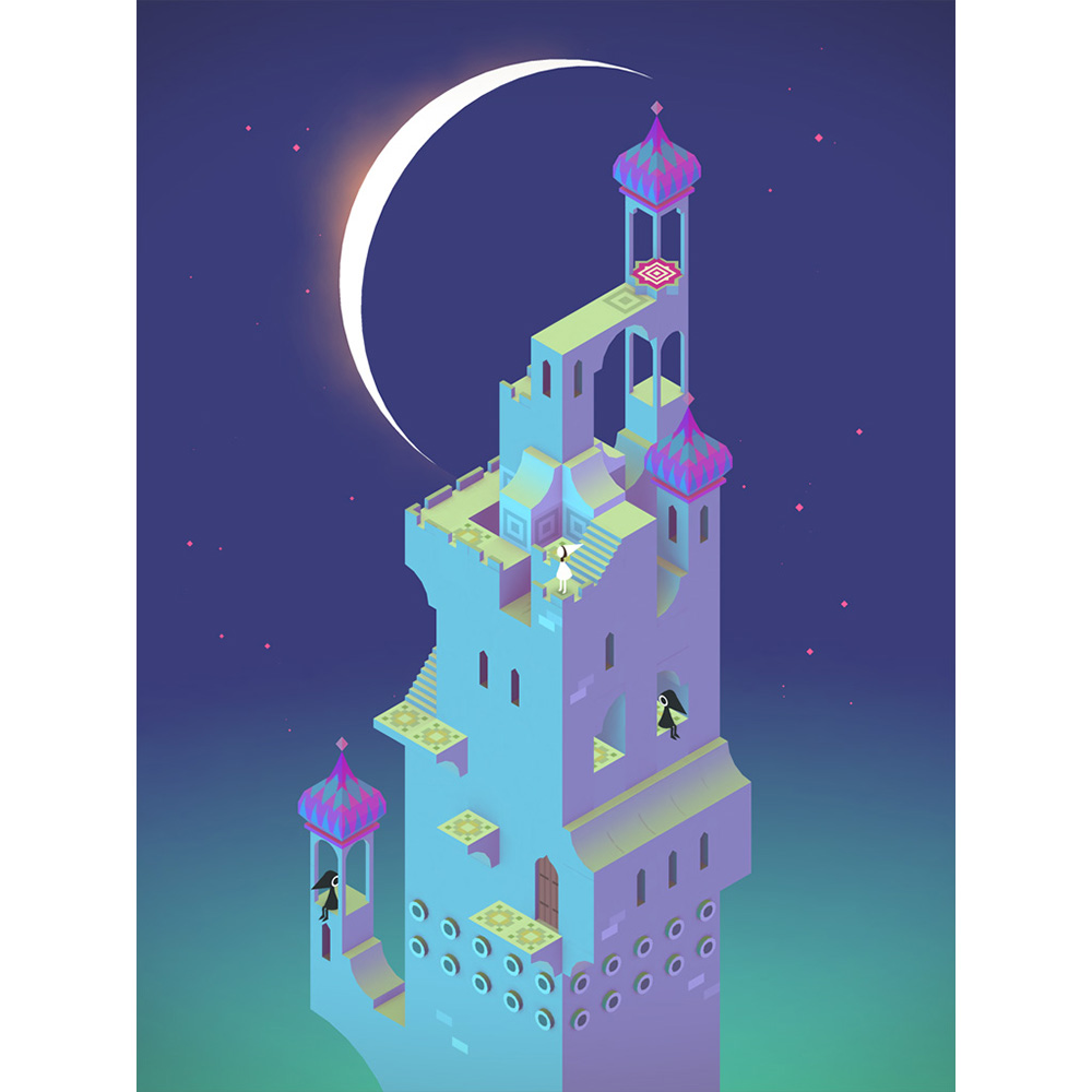 Monument Valley Free for iPhone, iPad
