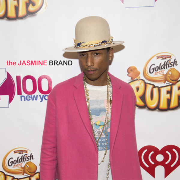 Pharrell faces contract lawsuit over Beats 1 show. No word on Arby's plans to sue over his hat.