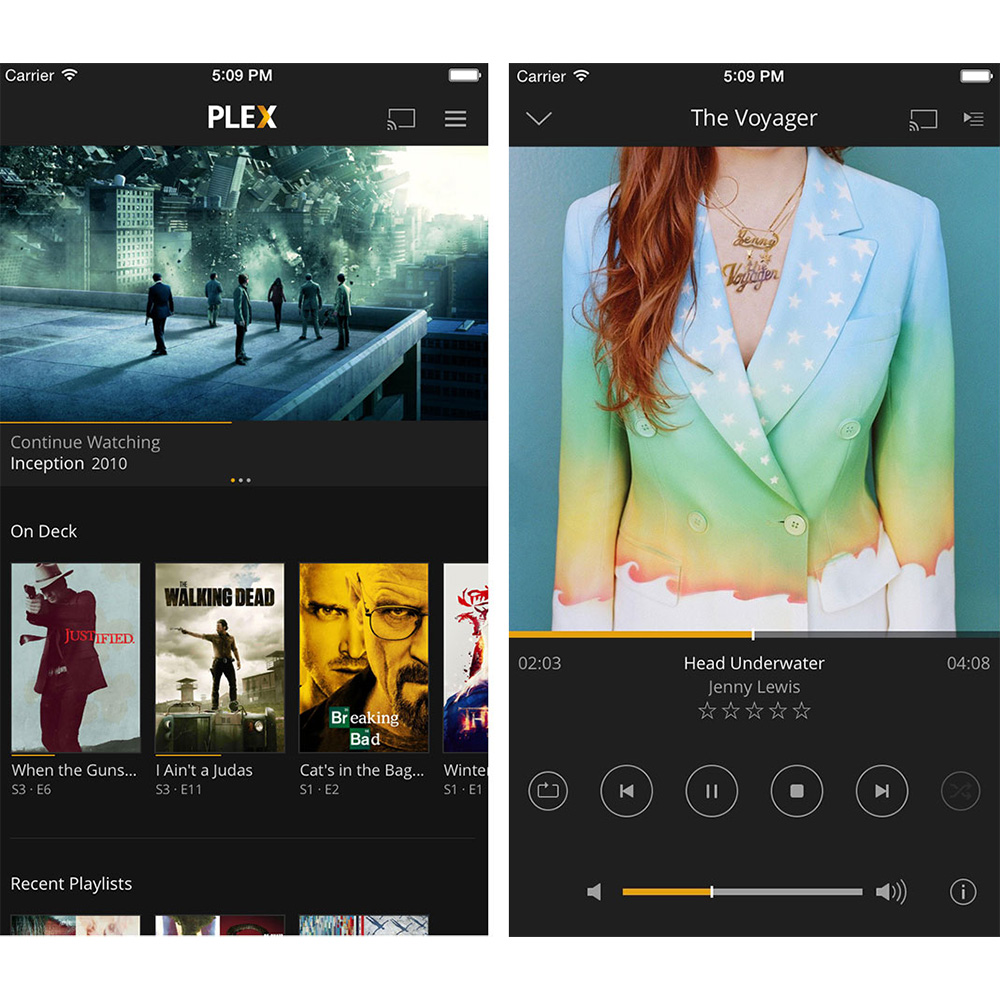 Plex, Now with Rotten Tomatoes and Rich Media Browsing