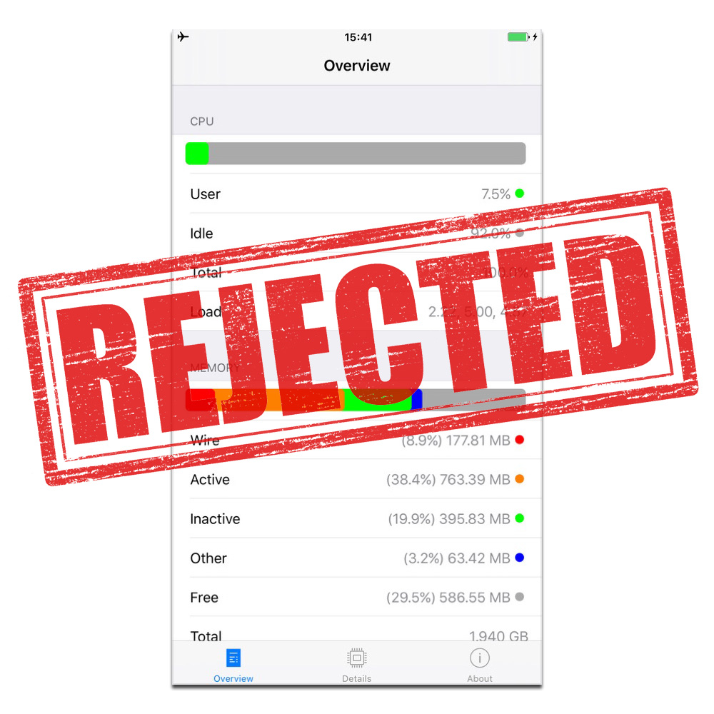 System and Security Info's' App Store Rejection is No Surprise – The