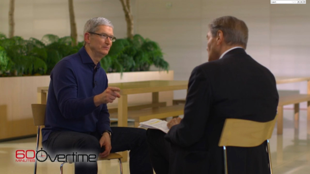 60 Minutes Behind-the-Scenes Video Filming at Apple