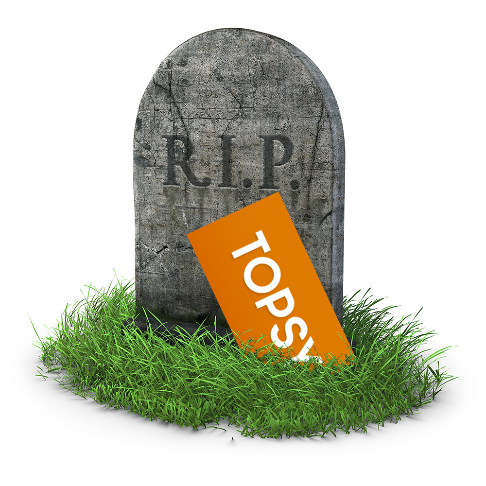 Topsy quietly shuts down two years after Apple purchase